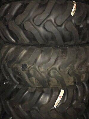 19.524 19.5-24 Goodyear R4 Backhoe Tire On John Deere Wheel