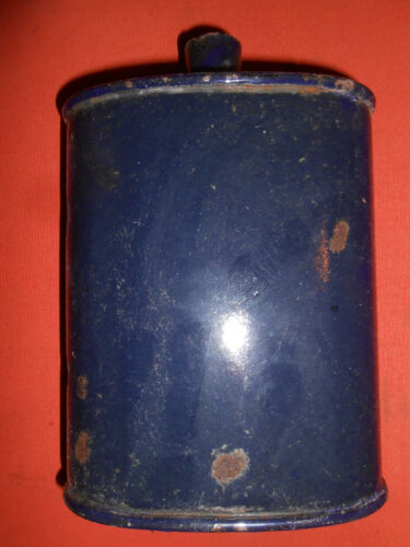 G.BRITAIN : Blue Enameling Water Bottle ,