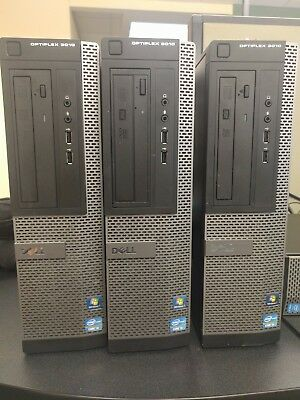 Optiplex 3010 - 4GB RAM - 500 GB HDD - Intel i3 at 3.40ghz