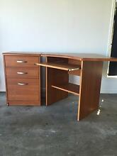 Corner Office Desk and Drawers Pacific Pines Gold Coast City Preview