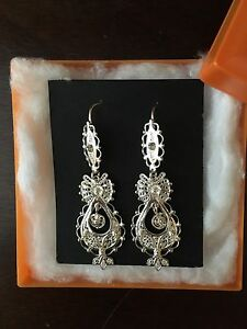 Brand new Portuguese Silver Earrings