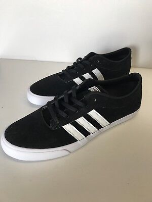 524c0b6cbc adidas Original Mens Sellwood Black Skateboarding Shoes 10.5 BB8698 In  Ugly-Box