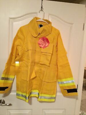Firefighter Wildlandbrush Jacket With Reflective Stripes Size M Barrier Wear