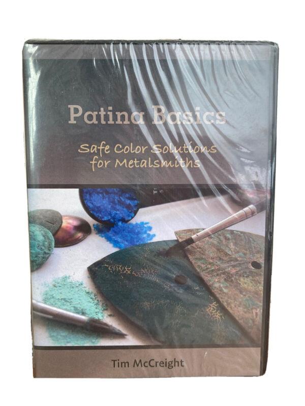 DVD  Patina Basics: Safe Color Solutions for Metalsmiths - Tim McCreight