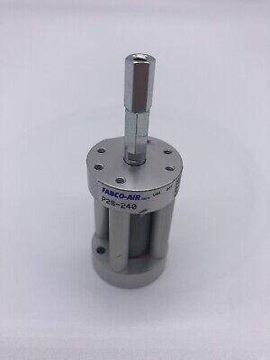 Lot Of 4 Fabco-air Pneumatic Cylinder P2s-240 Length