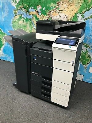 Konica Minolta Bizhub C458 Color Copierprintscanfs-536 Low Total Meter 14192