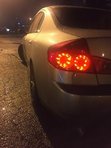 G35 sedan 2003-2006 oval shape GTR taillight