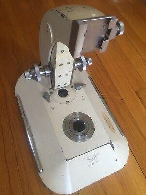 Microscope Part Reichert Austria Frame Metallograph Lab Equipment Healthcare