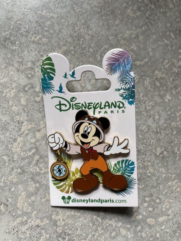 New Disney DLRP DLP Disneyland Paris Jungle Cruise Guide Mickey Mouse Pin 2021