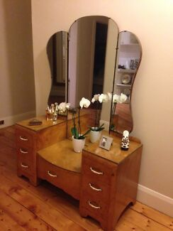 Art Deco Dressing Table Brighton East Bayside Area Preview