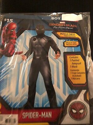 Halloween Costume Boy's Spider-Man Black Outfit Small, or  Medium NEW](Small Halloween Costumes)