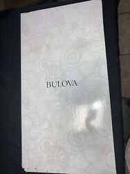 Bulova Manorcourt Golden Oak Finish Chime Pendulum Wall Clock C4419 *Box Damaged