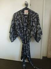 Satin Summer Dressing Gown - Size S/M Redcliffe Belmont Area Preview