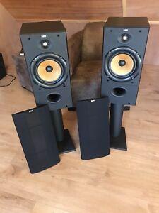Pair Of B&W Bowers & Wilkins DM 602 speakers