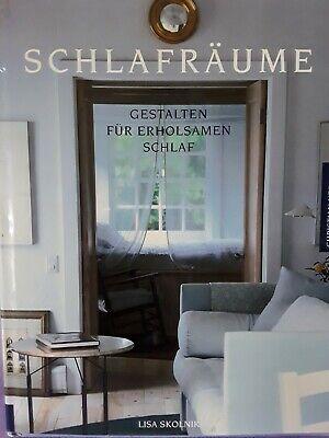 Schöner Bildband S C H L A F R Ä U M E Einrichtung/SCHlafzimmer gebraucht kaufen  Aglasterhausen
