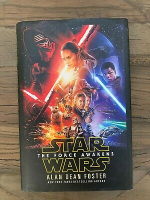 Star Wars The Force Awakens Book By Alan Dean Foster - Hardback & Dust Jacket
