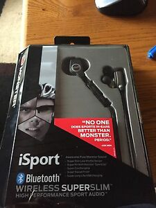Monster Isport Bluetooth wireless headphones