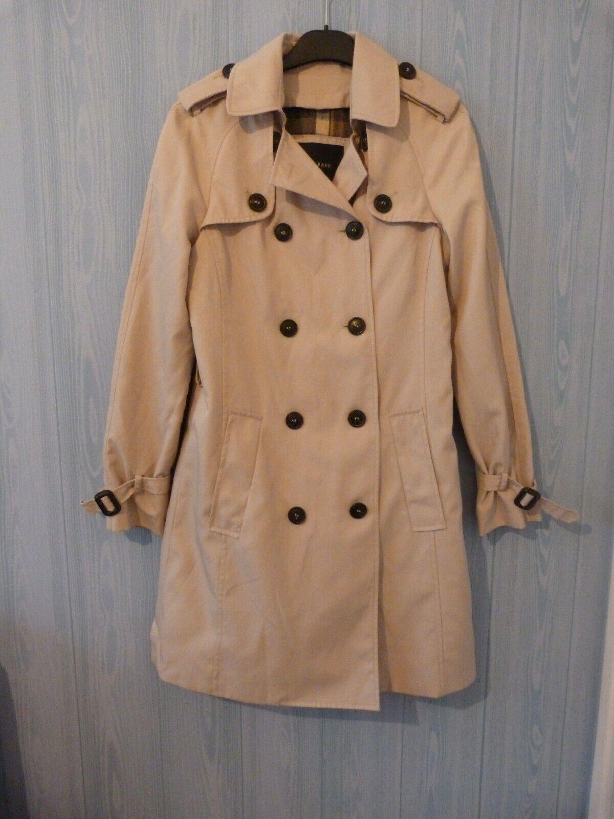 Trench / manteau / imper / femme zara beige