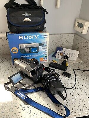 SONY CCD-TRV48E ANALOGUE CAMCORDER (Hi8 8mm Video 8     PLEASE READ DESCRIPTION