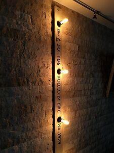 Vintage Wandlampe 2m Beige E27 Loft Design Edison Retro Industrial Lampe Leuchte