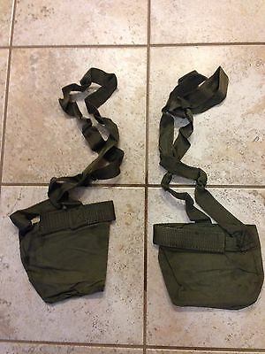 1 Pair  2 Each Post Vietnam M60 Cloth Ammo Bandoliers Bandoleers For 7 62 Linked