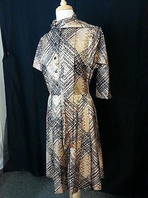 50 60 Outfits (VTG 50 60s ARKIN Collection Women 2 Piece Outfit Dress Jacket Browns Black)