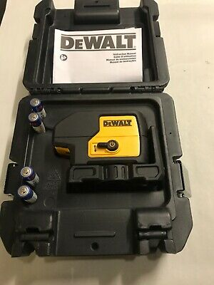 Dewalt Dw083 3 Beam Self Leveling Laser Pointer Dw 083 Hard Case Free Shipping