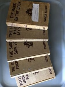 Hardy Boy Books dated from 1929. - 1943