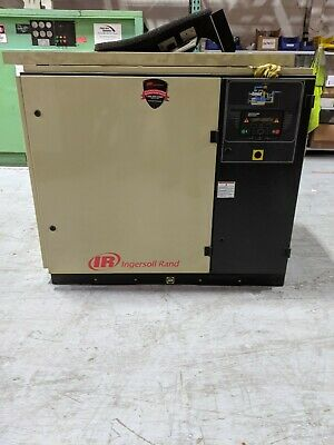 2 Used Ingersoll Rand 25 Hp And 1-30 Hp Rotary Screw Air Compressors Project