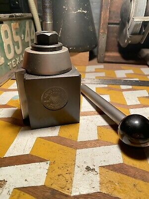 New Aloris Bxa Tool Post Holder 10 To 15 Lathe Swing Bxa-tp 10ee Monarch Set