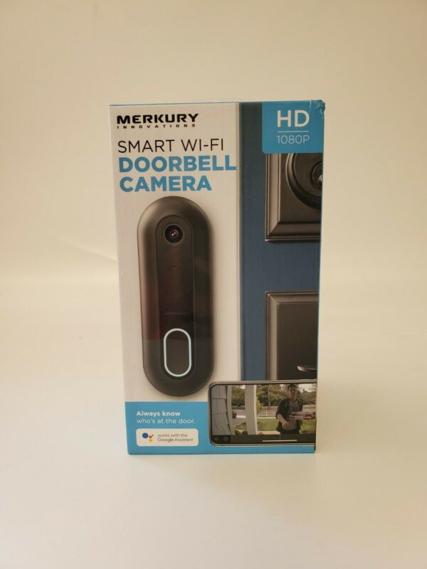 Video Doorbell 1080P Camera WiFi, Motion Activated, Night Vision Smart Home New
