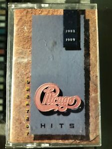 Chicago-Greatest Hits 1982-1989 cassette tape
