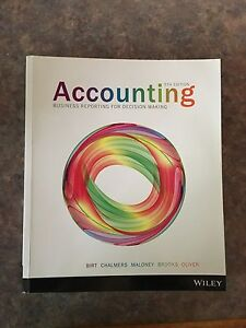 Accounting - Business reporting for decision making (5th Edition) Seventeen Mile Rocks Brisbane South West Preview