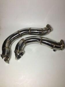 N54 catless downpipe with hardware