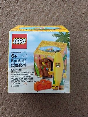 New, sealed Lego 5005250: Party Banana Juice Bar - Lego Store Gift with Purchase - Party City Gift Boxes
