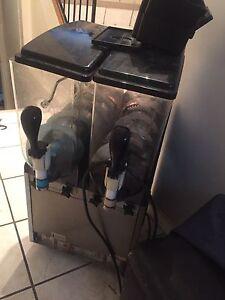 Double Barrel Slurpee Machine