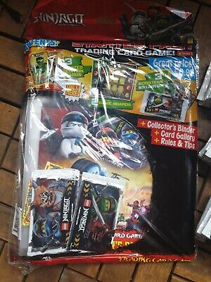 Lego Ninjago Series 3 Trading Card Starter Pack And 45 Packs Of Trading Cards