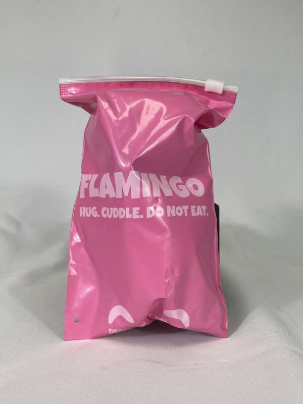 "Youtooz Flamingo AlbertsStuff Plush 6"" Plush Rare Sold Out LIMITED EDITION W BAG"