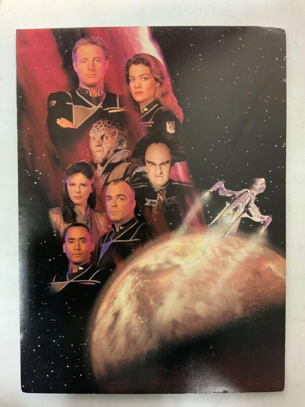 "Babylon 5 Poster Print On Pressboard 14.5"" X 10.5"""