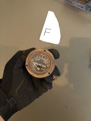 Vintage Hoyt Briscoe Amperes Meter