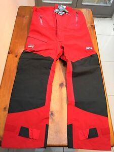 Henri Lloyd Sailing Trousers, Clipper Ocean Explorer GORE-TEX, BNWT, Red, XXL