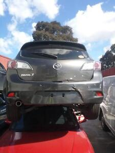 NOW WREAKING MAZDA3 HATCH DARK GREY COLOR ALL PARTS 2012 Dandenong South Greater Dandenong Preview