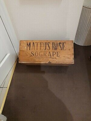 Vintage Mateus Rose boxes - 1 with damage