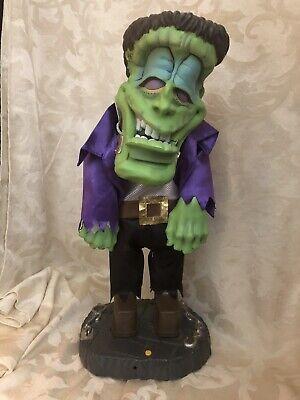 Monster's Halloween Dance Music (Gemmy Dancing Frankenstein Thriller Musical Animated Halloween Decoration)