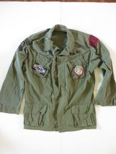 VNM era US Army jungle jacket Vet custom size Large/Long 1969