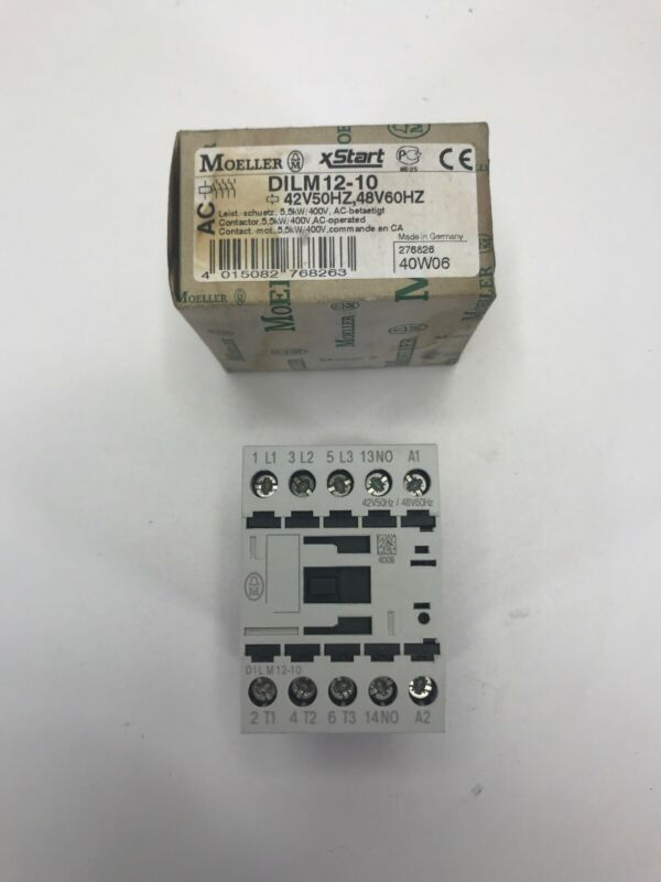 EATON-Moeller DILM12-10 (XTCE012B10A) 120 VAC Contactor