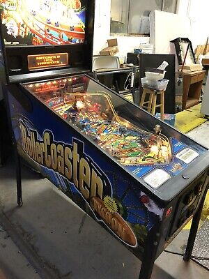 ****** Roller Coaster Tycoon Stern Pinball Machine Video Arcade Game ******
