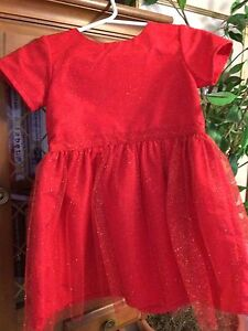 Carter's Christmas dress size 24M