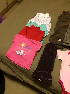 Baby girl clothes and shoes