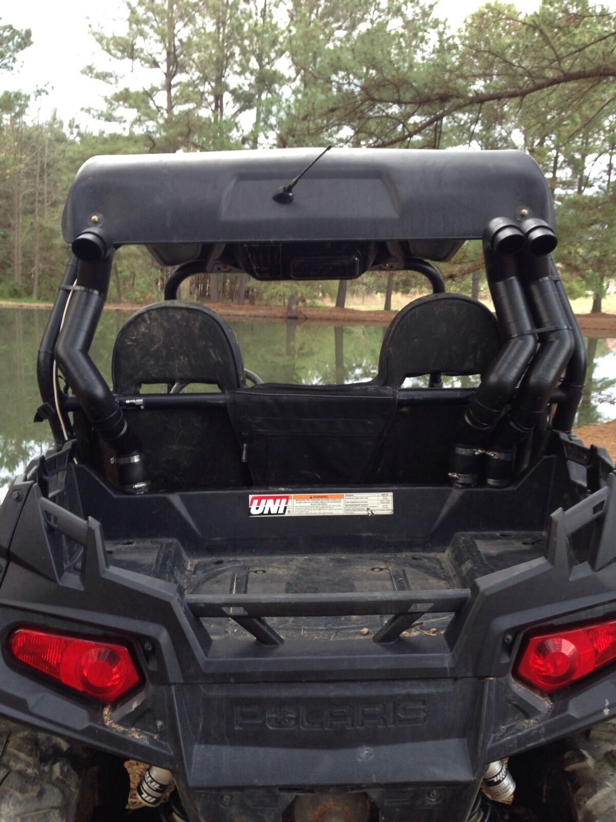 polaris rzr 800 snorkel kit side tall snorkel stacks. Black Bedroom Furniture Sets. Home Design Ideas